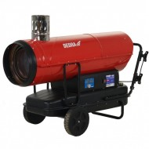 Incalzitor cu motorina / diesel ardere directa, cos evacuare gaze, 50 kW, Dedra