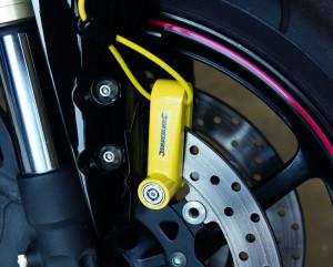 Antifurt motocicleta , sistem prindere pe disc , 63 x 9.8mm Silverline Motorcycle Disc Lock