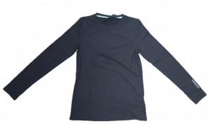 Bluza termica femei, ultra-usoara, M, elastica, neagra, Crivit