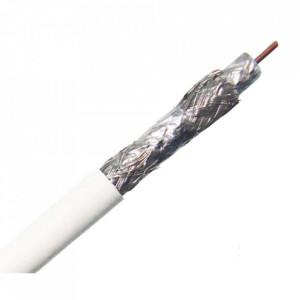Cablu coaxial profesional, 4 ecranaje, folie aluminiu, 152m, 500FT, RG6, 18AWG, 18GA, 75C, General Cable