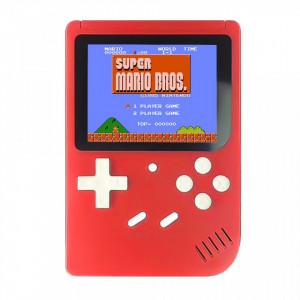 """Consola jocuri portabila, 400 de jocuri, rosu, lcd color 3"""", VKTools Plus"""