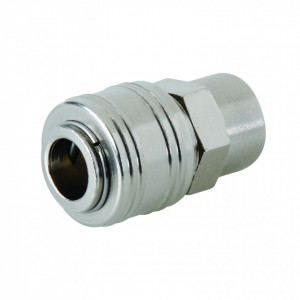 "Cupla rapida aer 1/4 "", mama , filet exterior , Silverline Euro Air Line Female Thread Quick Coupler"