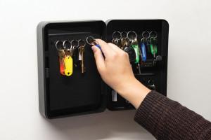 Cutie depozitare chei, cifru, 36 chei, 250 x 180 x 75mm, Silverline