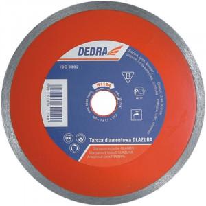 Disc diamantat subtire pentru ceramica, gresie , marmura, 180x22.2mm, grosime 1.9mm, Dedra