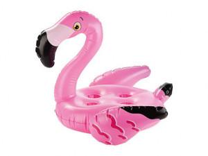 Flamingo gonflabil, suport 4 pahare piscina, 69 x 60cm, Crivit