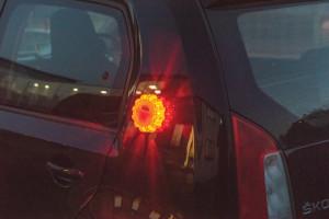 Girofar led , 9 functii, 15 LED, magnet, carlig, rezistent impact, Silverline