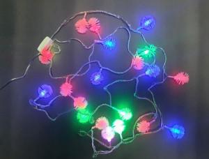 Instalatie 20 LED, multicolor, 4m, VKTool