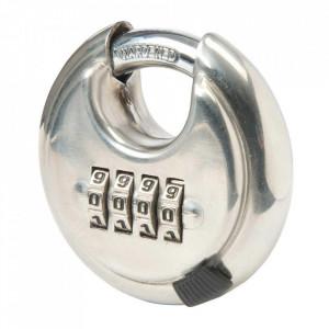 Lacat rotund cu cifru, 4 digit, 70mm, Silverline