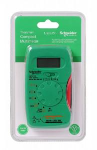 Multimetru digital, 2-300v, 200mA, Schneider Electric