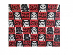 Paturica fleece premium, 150 x 120 cm, Star Wars, George Home