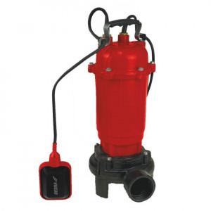 Pompa apa reziduala cu tocator, basa, plutitor, 900W, adancime 7m, inaltime refulare 14m, 20000L/h, 18Kg, Dedra
