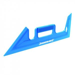 Protectie din plastic pentru vopsit, zugravit, corectii, 450mm, Silverline Paint Shield