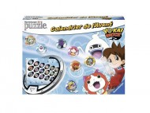 Puzzle 3D, Calendar Advent, 24 in 1, YO-KAI Watch, Ravensburger