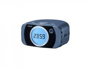 Radio cu ceas, afisaj LCD, alarma dubla, AKAI Ar180D