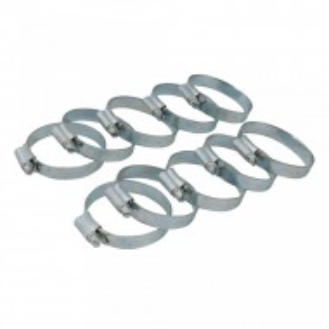 Set 10 coliere metalice profesionale, 30-40mm, Fixman