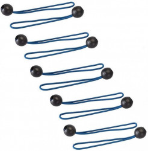 Set 10 prinderi foaie cort ,elastice cu bila, 175mm, Silverline