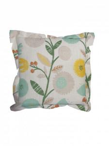 Set 2 perne decorative premium, 43 x 43 cm, floral, husa detasabila, George Home