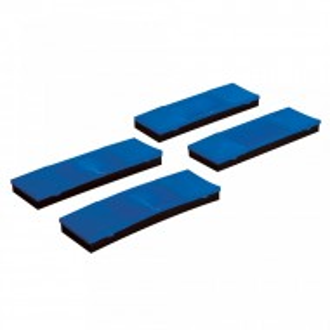 Set 4 protectii ghinga, 63 x 17mm, Silverline
