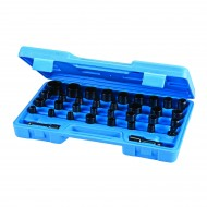 Set tubulare de impact 35 piese , Silverline Impact Socket Set 35pce