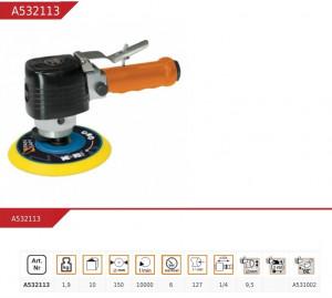 Slefuitor pneumatic orbital, pentru compresor , 150 mm, 10000 Rpm,Pansam