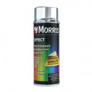 Spray vopsea profesional, crom argintiu, 400ml, Morris
