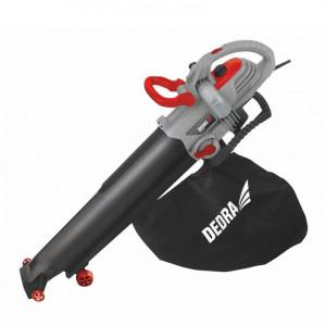 Suflanta , aspirator tocator frunze, 3000W, viteza variabila, sac 45L, paleta aluminiu, Dedra