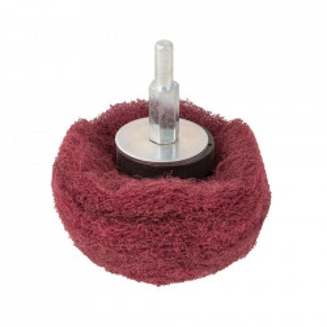 Tambur slefuit sfera, 75mm, grit 240, nailon, Silverline