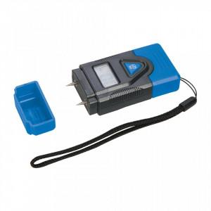 Tester mini umiditate , umidometru lemn, ciment,  termometru, Silverline