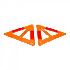 Triunghi urgenta reflectorizant 3D, auto, 230x260mm, Silverline