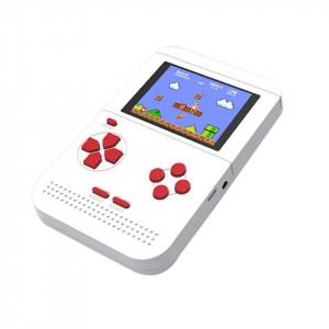 "Consola jocuri portabila, 400 de jocuri, alb, lcd color 3"", VKTools Plus"