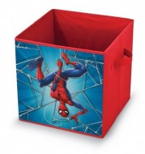 Cutie depozitare fara capac, Spiderman, 32x32x32 cm, Marvel