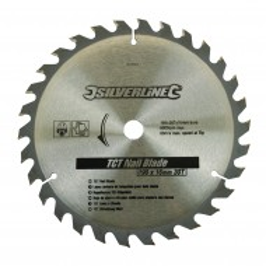 Disc circular TCT 30T0 ° , 30 dinti , 190 mm x 16 mm , Silverline TCT Nail Blade 30T