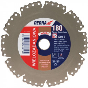 Disc Diamantat 115-22.2 mm VACUUM BRAZED pentru taiat beton, ceramica, asfalt, beton armat, pietre de bordura, taiere uscata/umeda