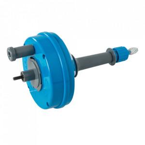 Dispozitiv desfundat canalizare, actionare bormasina, cablu 6m, grosime 6mm , Silverline