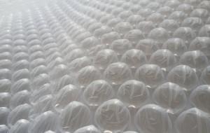 Folie cu bule 70 cm X 100 m . rola 70 m2
