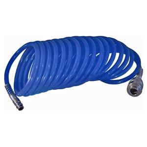 Furtun spiralat pentru compresor aer cu mufe ,5M , 12 bar , Pansam