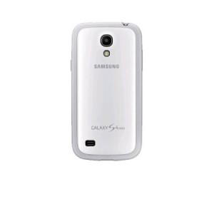 Husa de protectie Samsung pentru Galaxy S4 Mini I9195, Alb