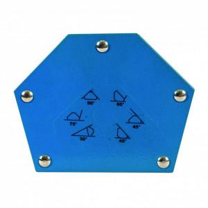 Magnet pentru sudura Silverline hexagonal model 18Kg 30 ° 45 ° 60 ° 90 ° 135 °