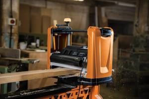 Masina de rindeluit, abric, profesional cu grosime, 1100W, 317mm, Triton