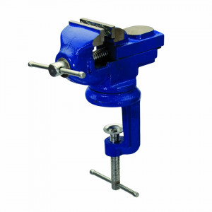 Menghina medie rotativa, prindere 50mm, Silverline Table Vice with Swivel Base