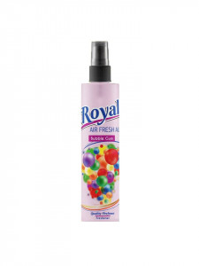 Odorizant , parfum camera, auto, 100 ml, pulverizator mecanic, Bubble Gum, Royal