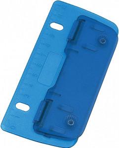 Perforator plat foi, portabil, 130mm, plastic, Idena