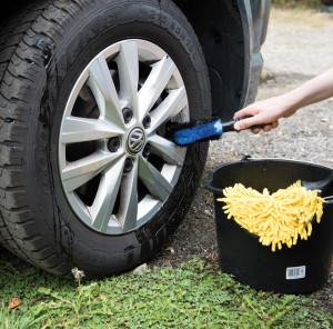 Perie curatat jante auto, 250mm, Silverline