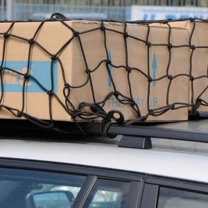 Plasa pentru marfa elastica 300 x 300 mm cu 6 carlige , grosime 5mm