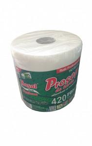 Prosoape de hartie profesionale absorbante, rezistente, 420 foi, 84m, 2 straturi, 100% celuloza, Royal
