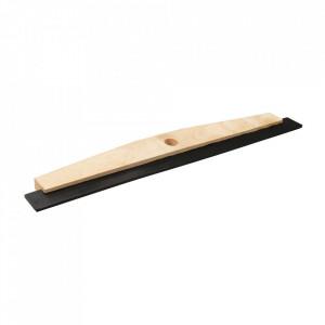Racleta podele, 600mm, lemn cauciuc, Silverline