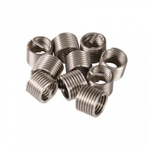 Set 10 bucati insertie spiralata reparat filete, M12 x 1.75mm x 1D, Silverline