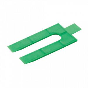 Set 250 cale distantiere universale, plastic , 2mm, Fixman