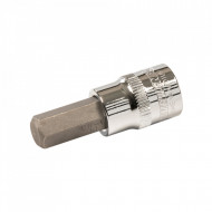 Set 7 biti , HEX, 3/8 , 3 - 10mm, 48mm, Silverline