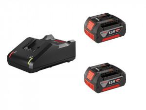 Set incarcator GAL 18V-40 , 2 acumulatori 18V 4Ah GBA 4.0Ah, original, Bosch